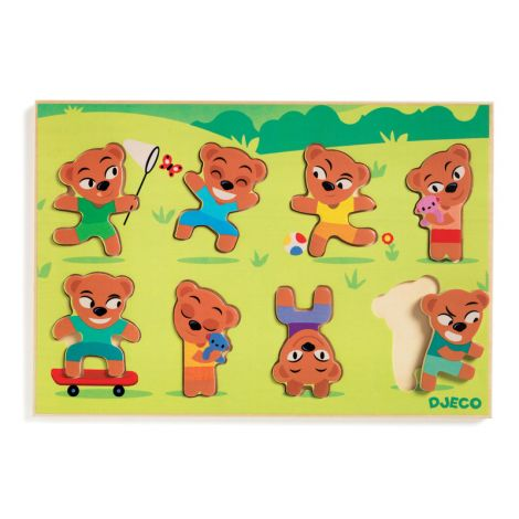 TEDDY MATCH RELIEF PUZZLE