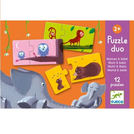 PUZZLE DUO: MOM & BABY