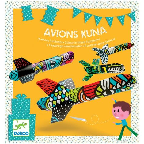 KUNA PLANES CRAFT ACTIVITY SET