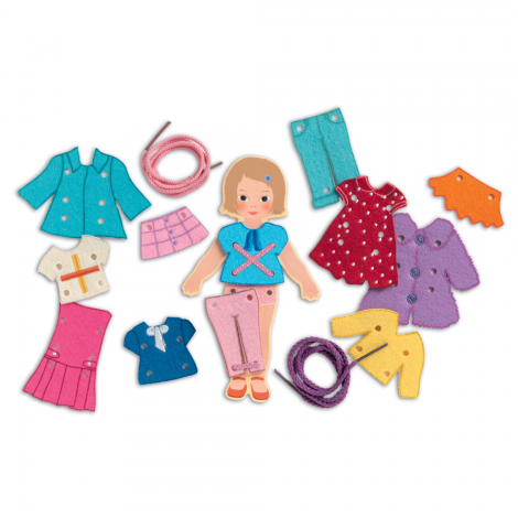 SO CHIC LACING DOLL SET