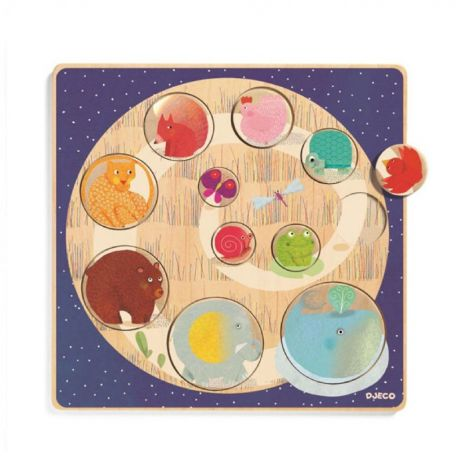 LUDI & CO. WOODEN RELIEF PUZZLE