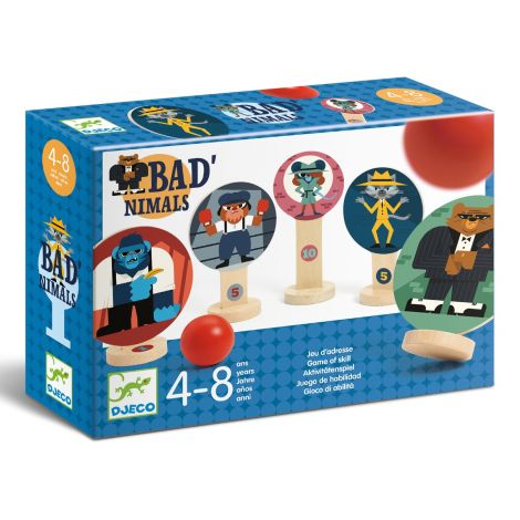 BAD'NIMALS PARTY TARGET GAME