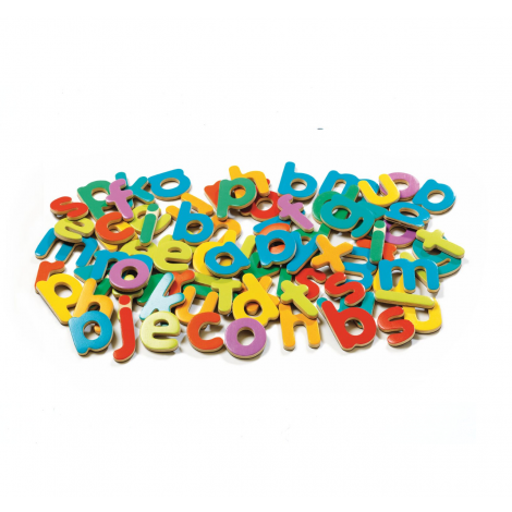 LOWER-CASE SCRIPT LETTERS MAGNETICS SET (83PCS)