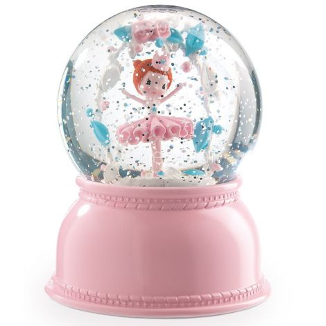 SNOW GLOBE NIGHTLIGHT: BALLERINA