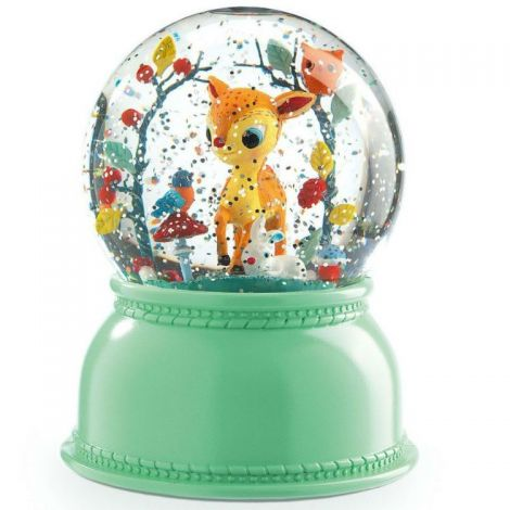 SNOW GLOBE NIGHTLIGHT: FAWN