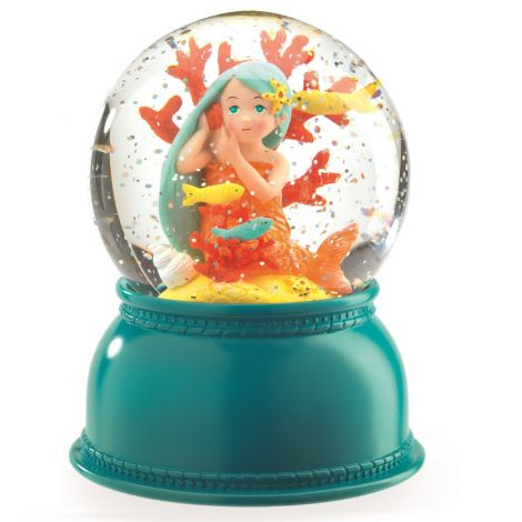 SNOW GLOBE NIGHTLIGHT: MERMAID