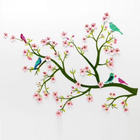 3D WALL STICKERS: CHERRY TREE IN BLOOM