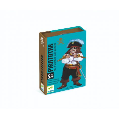 PIRATATAK PIRATE SHIP STRATEGY CARD GAME