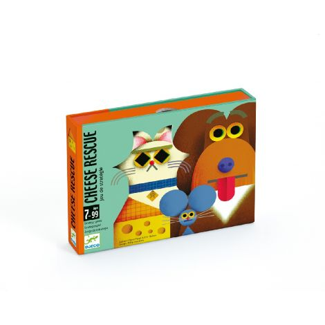 CHEESE RESCUE STRATEGY CARD GAME