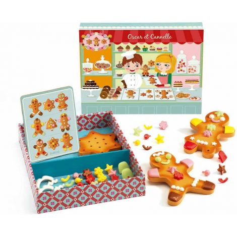 OSCAR & CANNELLE GINGERBREAD COOKIES SET