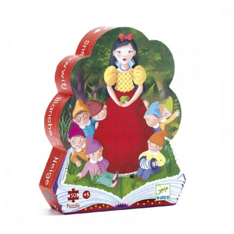 SILHOUETTE JIGSAW PUZZLE: SNOW WHITE (50PC)