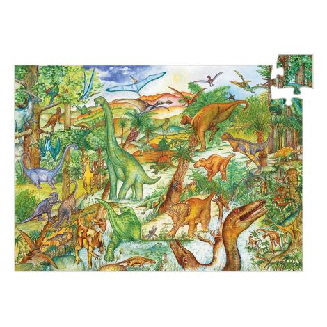 OBSERVATION PUZZLE: DINOSAURS (100PC)