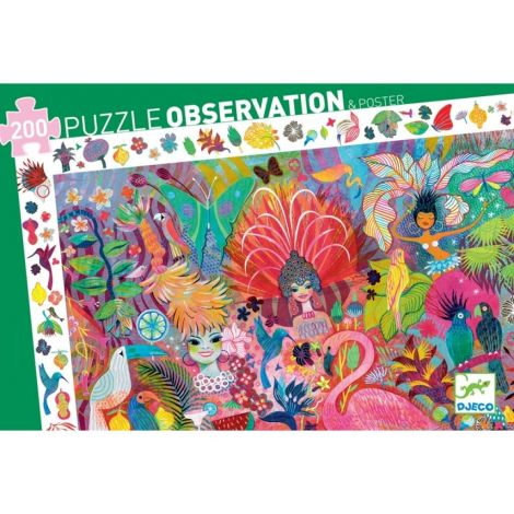 OBSERVATION PUZZLE: CARNIVAL OF RIO (200PC)