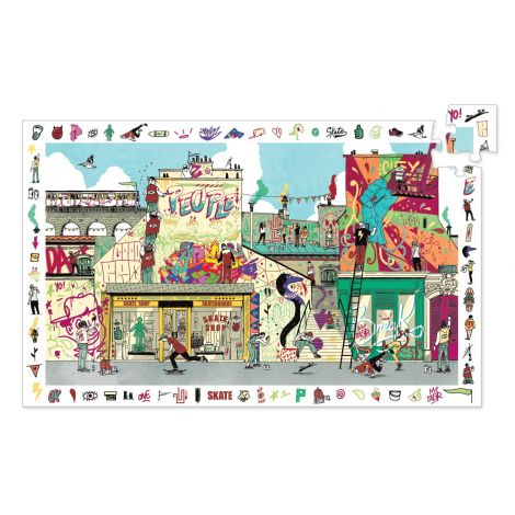 OBSERVATION PUZZLE: STREET ART (200PC)