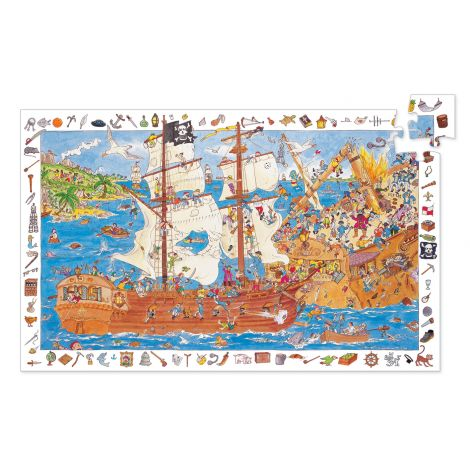 OBSERVATION PUZZLE: PIRATES (100PC)