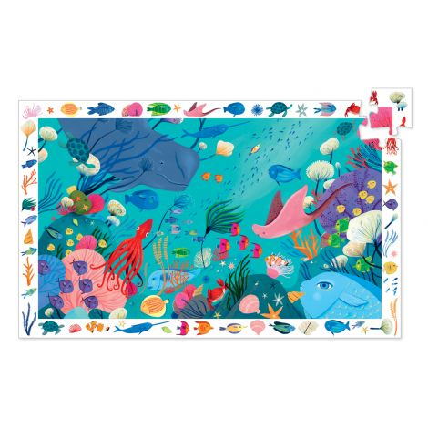 OBSERVATION PUZZLE: AQUATIC (54PC)