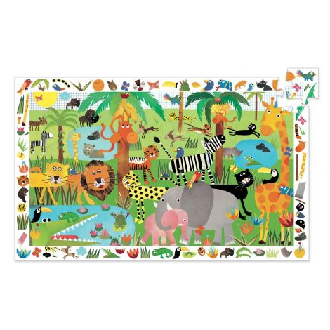 OBSERVATION PUZZLE: JUNGLE (35PC)