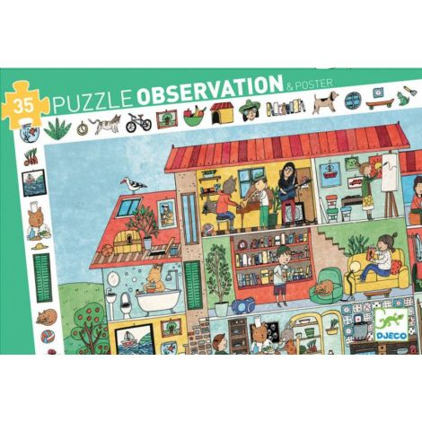 OBSERVATION JIGSAW PUZZLE: THE HOUSE (35PC)