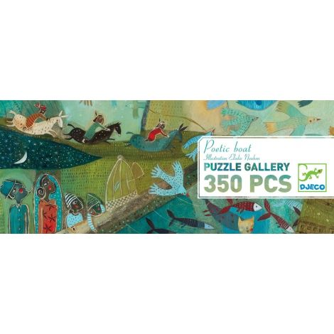 GALLERY JIGSAW PUZZLE: POETIC BOAT (350PC)