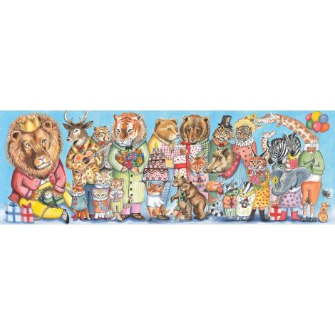 GALLERY PUZZLE: KING PARTY (100PC)