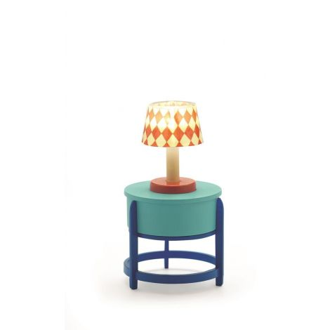 PETIT HOME: LAMP + SIDE TABLE
