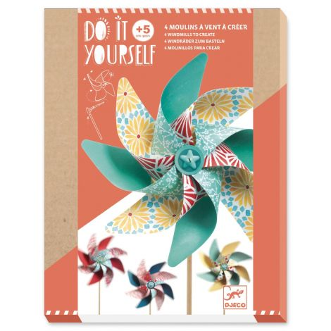 DO IT YOURSELF ACTIVITY SET: SWEET WINDMILLS TO CREATE