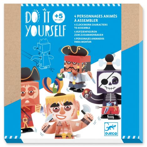DO IT YOURSELF ACTIVITY SET: PIRATE CREATURES TO CREATE