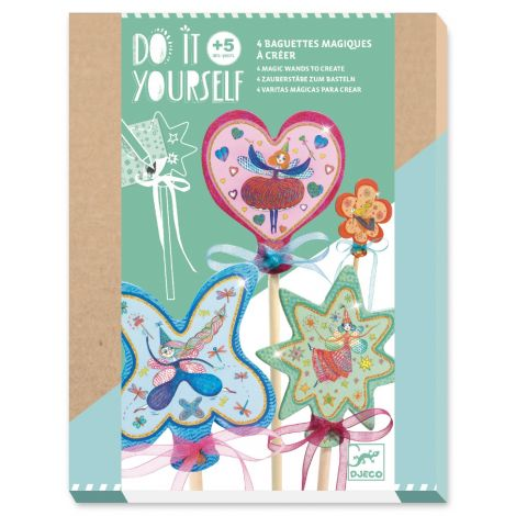 [PRE-ORDER: ETA END JUNE] DO IT YOURSELF ACTIVITY SET: FAIRY WANDS TO CREATE