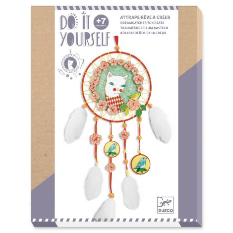 DO IT YOURSELF ACTIVITY SET: ARLECAT DREAMCATCHER TO CREATE