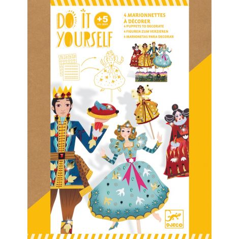 DO IT YOURSELF ACTIVITY SET: PAPER PUPPETS TO CREATE