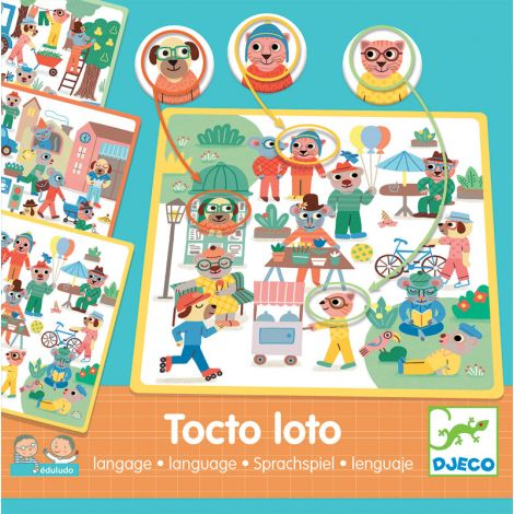 EDULUDO TACTO LOTO LISTEN-AND-OBSERVE GAME