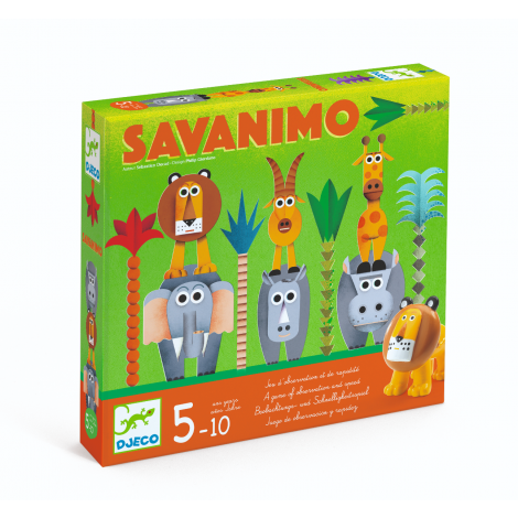 SAVANIMO OBSERVATION & SPEED BOARD GAME