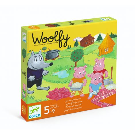 WOOLFY COOPERATION BOARD GAME