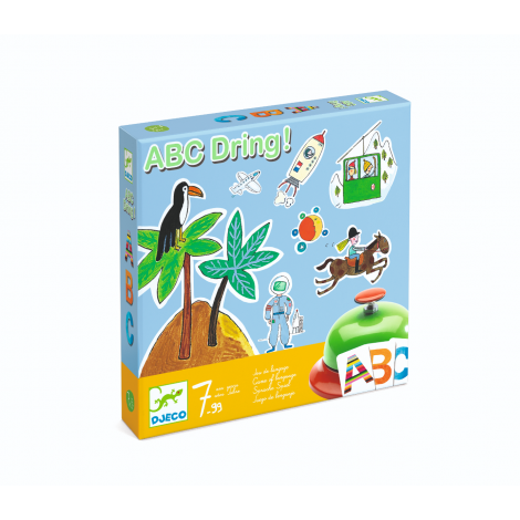 ABC DRING! LANGUAGE GAME