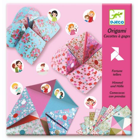 ORIGAMI ACTIVITY SET: FORTUNE TELLERS