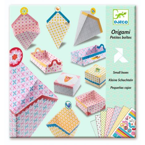 ORIGAMI ACTIVITY SET: SMALL GIFT BOXES