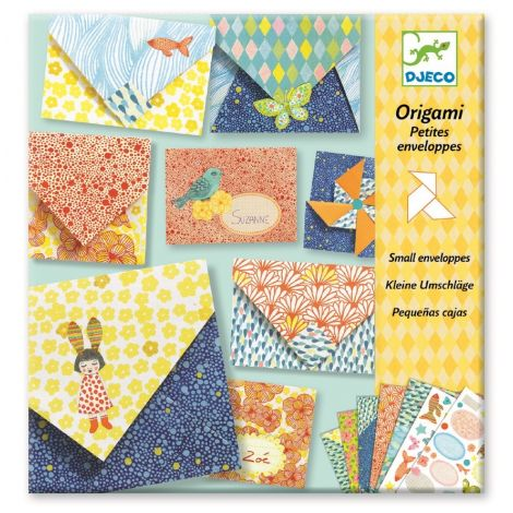 ORIGAMI ACTIVITY SET: LITTLE ENVELOPES