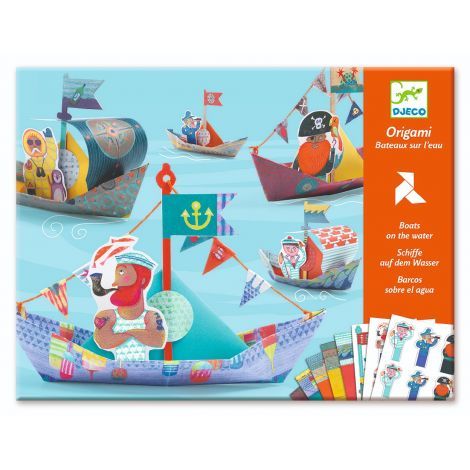 ORIGAMI ACTIVITY SET: BOATS ON THE WATER
