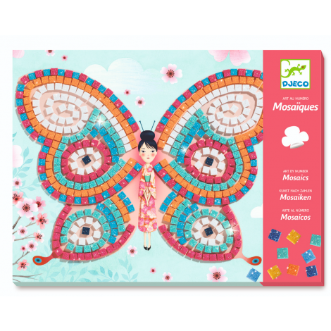 GLITTER MOSAICS ACTIVITY SET: BUTTERFLIES