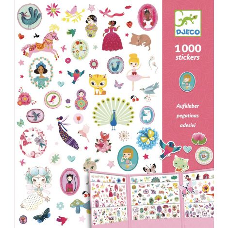 THE STICKER COMPENDIUM FOR GIRLS