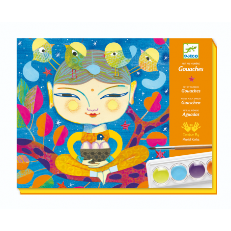 GOUACHE PAINTING WORKSHOP KIT: INDIA