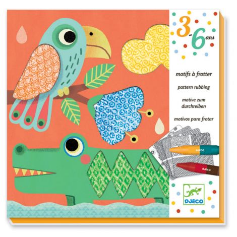 PATTERN RUBBING WORKSHOP KIT: MIGALI'S FRIENDS