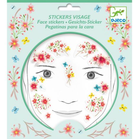 EMBELLISHED FACE STICKERS: SPRINGTIME FAIRY