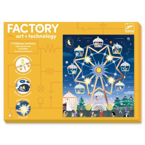 FACTORY ART + SCIENCE PROJECT KIT: 'WAY UP HIGH' PICTURE BOARDS