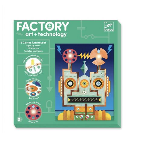 FACTORY ART + SCIENCE PROJECT KIT: 'CYBORGS' PICTURE BOARDS