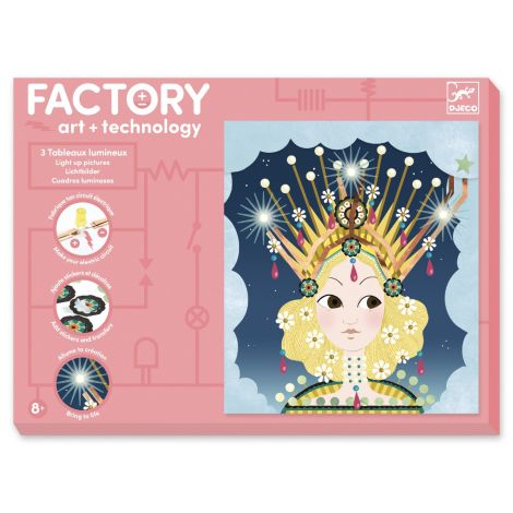 FACTORY ART + SCIENCE PROJECT KIT: 'TIARAS' PICTURE BOARDS