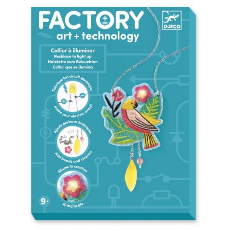 FACTORY ART + SCIENCE PROJECT KIT: 'CALYPSO' NECKLACE
