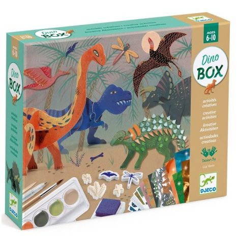 ALL-IN-ONE MULTI-ACTIVITY KIT: THE WORLD OF DINOSAURS
