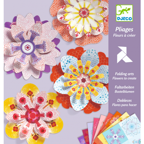 PAPER FOLDING CRAFT ACTIVITY SET: CREATING FLOWERS