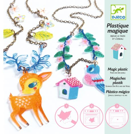 MAGIC PLASTIC CRAFT SET: THE FAWN & THE BIRD